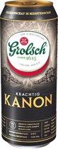 Grolsch Kanon Bier 50cl Tray 12 Blikjes