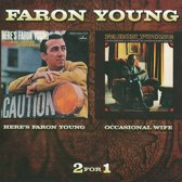Here'S Faron Young /  Occasional Wife, 2 On 1, 1968 & 1970 Albums