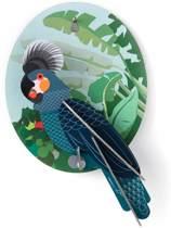 Studio ROOF | 3D Wanddecoratie | Papegaai