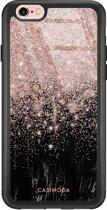 iPhone 6/6s glazen hardcase - Marmer twist