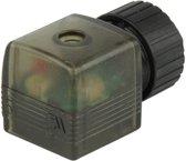 Connector 12-24V AC/DC (DIN - A) met LED - Burkert 2508 008360 - 008360