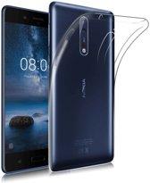 Nokia 8 Transparant TPU Hoesje