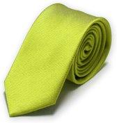 Stropdas groen effen 8 cm