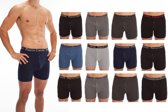 Boxershorts - heren - 12 pack herenboxers - diverse kleuren