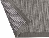 Linea Naturale vloerkleed tbv in/outdoor gebruik in Sisal-look Naturino Tweed grijs 160x230cm