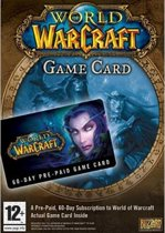 Blizzard World of Warcraft: Time Card, 60-Day
