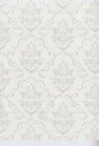 PVC Tafelkleed Aida wit 140 x 240 cm