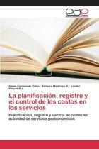 La Planificacion, Registro y El Control de Los Costos En Los Servicios