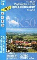 Pfaffenhofen - Schrobenhausen 1 : 50 000