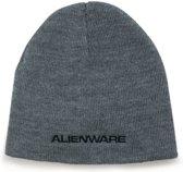 Dell AWHB1 Alienware Knit Beanie Heather Gray Cap Muts (Origineel)