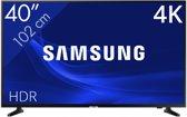 "Smart TV Samsung UE40NU7115 40"" 4K Ultra HD LED WIFI Zwart"