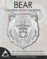 Bear Coloring Book for Adults