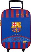 FC BARCELONA Kinder Trolley Koffer Voetbal Vakantie Handbagage