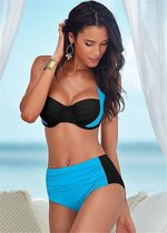 High waist bikini set zwemkleding fashion Licht Blauw