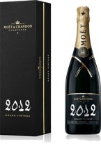 Moët & Chandon Grand Vintage 2012 Champagne - 1 x 75 cl