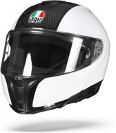 AGV SPORTMODULAR CARBON WIT SYSTEEMHELM S
