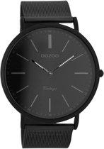 OOZOO Vintage C7384 - Horloge - Staal - Zwart - Ø 44 mm
