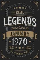Real Legendes were born in Januar 1970
