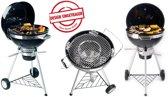 Tepro Philadelphia Houtskoolbarbecue - Zwart -  Roestvrijstaal