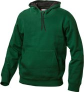Carmel hooded sweat 280 g/m2 flessengroen m