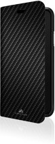 """Black Rock Booklet """"Flex Carbon"""" voor Apple iPhone Xr, Zwart"""