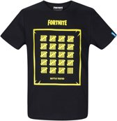 Fortnite T-shirt met korte mouw - zwart - Maat S