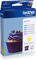Brother LC-123Y - Inktcartridge / Geel
