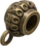 Tussenstuk 1 Oog (Binnenmaat 3.3 mm) Brons (10 Stuks)