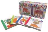 Boek cover Dikkie Dik uitdeelboekjes (doos met kleine kartonboekjes) van J Boeke (Onbekend)