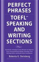 Omslag van 'Perfect Phrases for the TOEFL Speaking and Writing Sections'