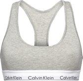 Calvin Klein Modern Cotton Top - Grijs - Maat S