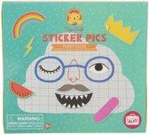 Tiger Tribe Sticker Pics - Funny Faces