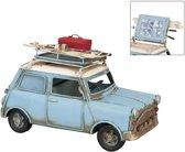 Model auto / Spaarpot / Fotolijst 20*10*13 cm / 5*4 cm Groen | 6Y1201 | Clayre & Eef