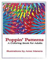 Poppin' Patterns A Coloring Book for Adults