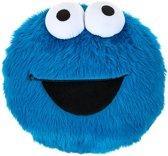 Sesamstraat Kussen Cookie Monster Blauw 30 Cm