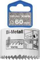 KWB Gatenzaag HSS Bi-metaal 598-025 - Ø 25 mm