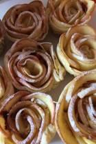 Apple Roses Baking Journal