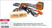 auto radio aansluitkabel / verloopkabel geschikt voor HYUNDAI 2009+ (select models) / KIA 2010+ (select models)  (with AUX+USB) Audiovolt 12-039