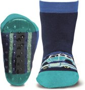 Ewers antislip sokken Stoppi auto blauw