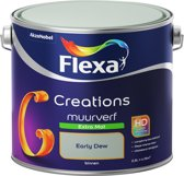 Flexa Creations - Muurverf Extra Mat - Early Dew- 2,5 liter