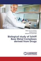 Biological Study of Schiff Base Metal Complexes Derived from Drugs