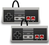 2 Controllers voor de Nintendo Mini Classic NES in het grijs (2016 model)