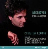Piano Sonatas, Vol 3