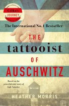 Boekomslag van 'The Tattooist of Auschwitz'