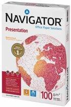 Navigator Presentation presentatiepapier formaat A4 100 g pak van 500 vel