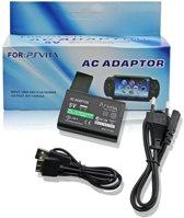 Voedings Adapter Lader Voor PSVita - 220 Volt & USB Stroom Oplader Kabel AC
