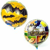 Folieballon Happy Halloween vleermuis