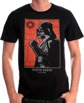 Star Wars - Vader Portrait T-Shirt - Zwart - S