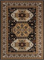 Gunstige Orientaalse Vloerkleed - 120X170cm-Zwart