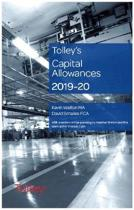 Tolley's Capital Allowances 2019-20